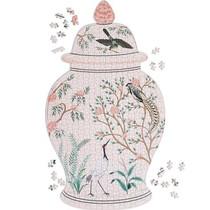 Flora and Fauna Ginger Jar Puzzle - 500 Piece