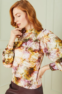 Cappie Pullover, Earth Dye