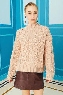 Cecile Sweater, Rose Dust