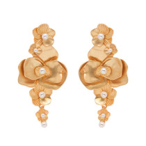 Camille Earring, Gold