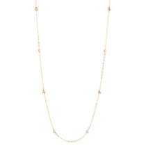 "41"" Necklace Gold - Riverstone"