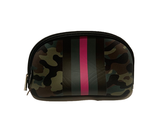 Cosmetic Bag, Pink Army