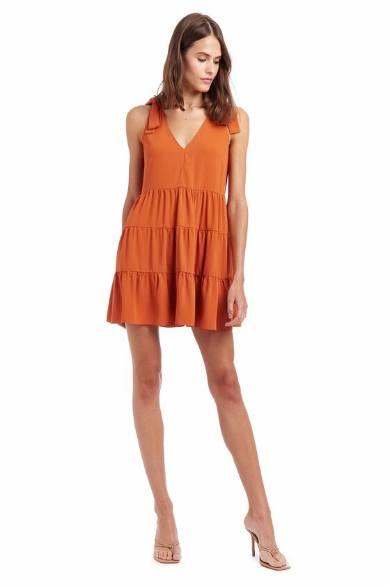 Pruitt Dress - Ginger