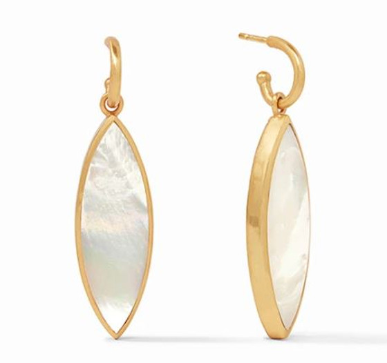 Venus Statement Earrings - Pearl