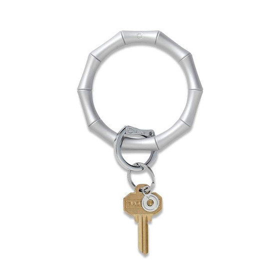 Big O Silicone Key Ring-Quicksilver Bamboo