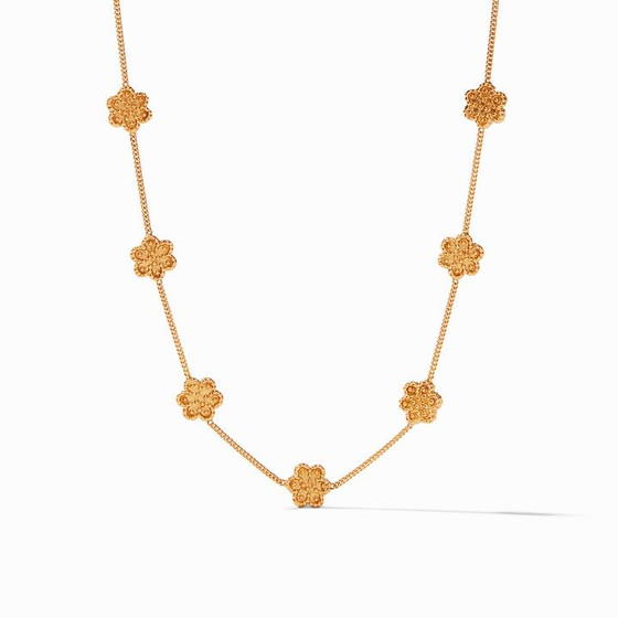 Colette Delicate Station Necklace Gold