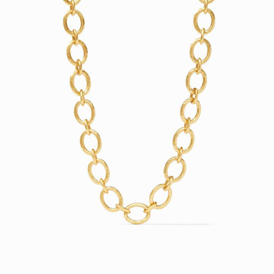 TS N309 Catalina Small Necklace Gold Pearl