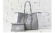 Large Tote, Grey Camo Star