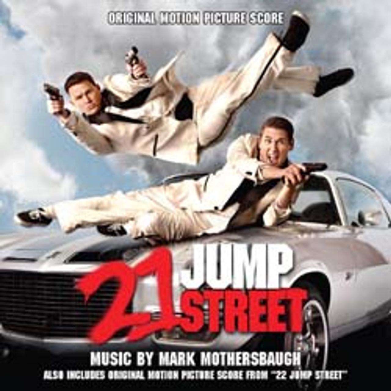 22 21 Jump Street Limited Edition 2 Cd Set La La Land Records
