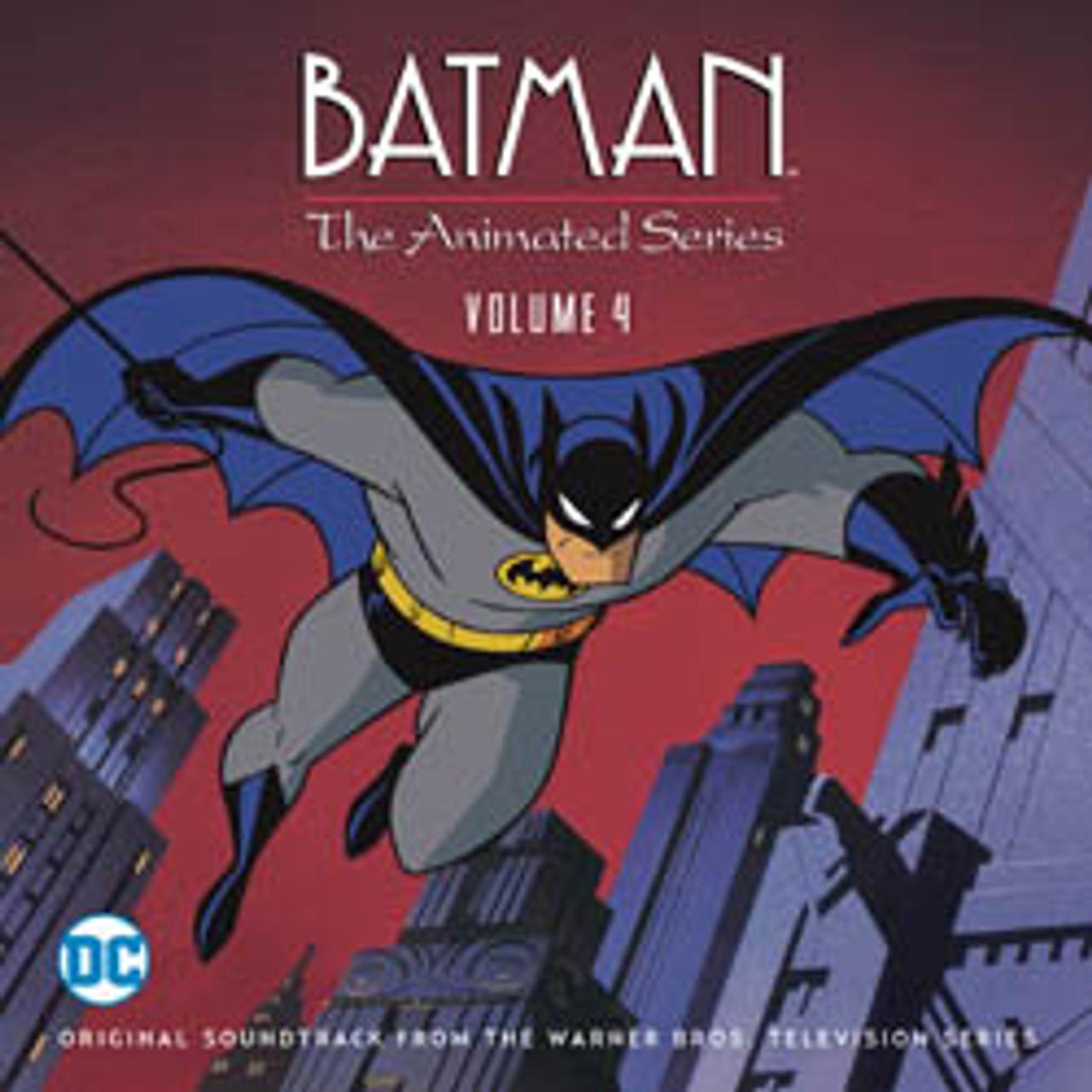 Batman The Animated Series Vol 4 Limited Edition 2 Cd Set La La Land Records