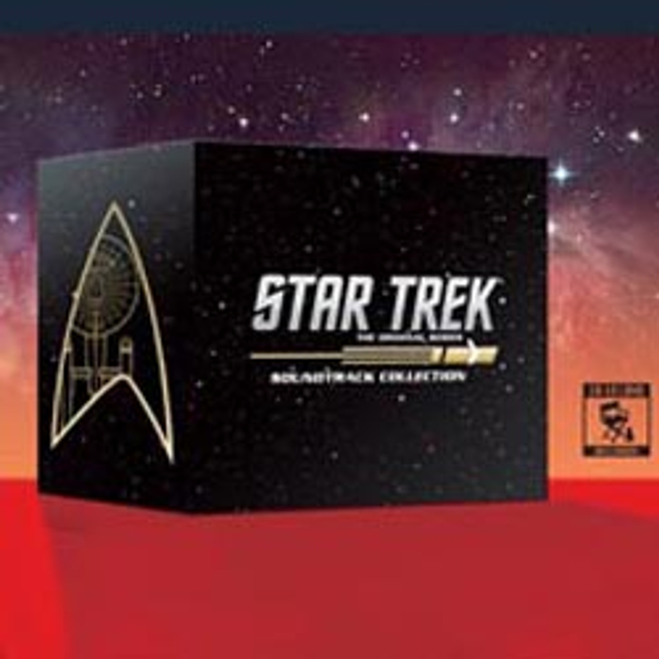 STAR TREK: THE ORIGINAL SERIES SOUNDTRACK COLLECTION: LIMITED EDITION -  (15-CD BOX SET)