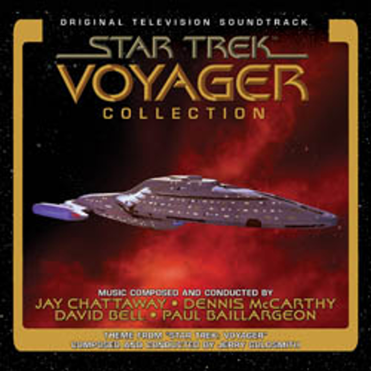 Star Trek Voyager Collection Limited Edition 4 Cd Set