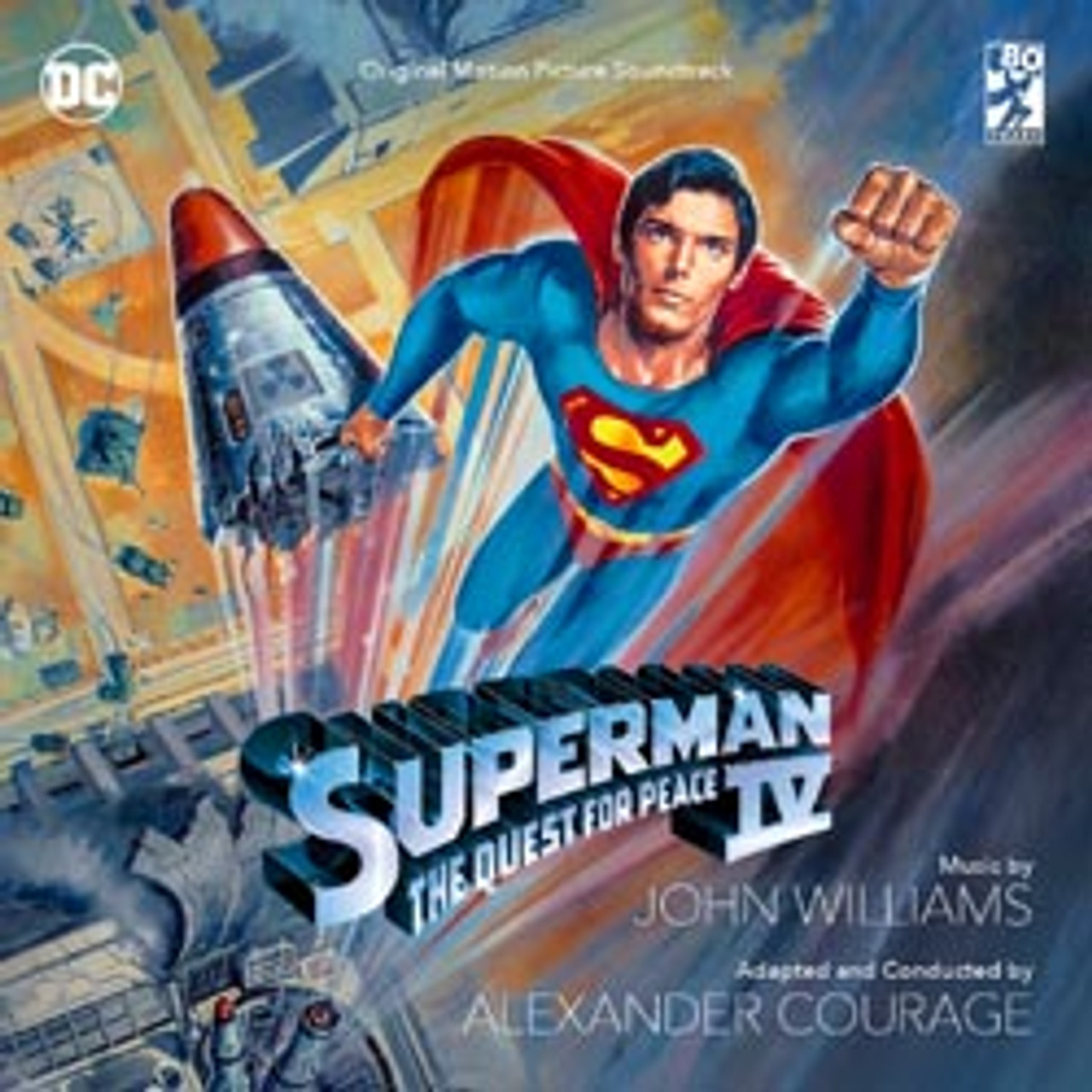 SUPERMAN IV – THE QUEST FOR PEACE: LIMITED EDITION (2-CD SET)