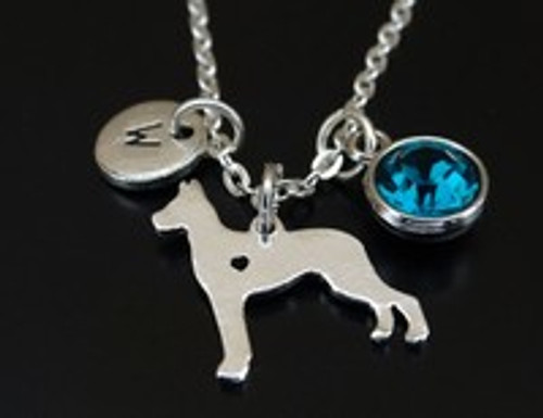Grt Dane Charm necklace- free shipping