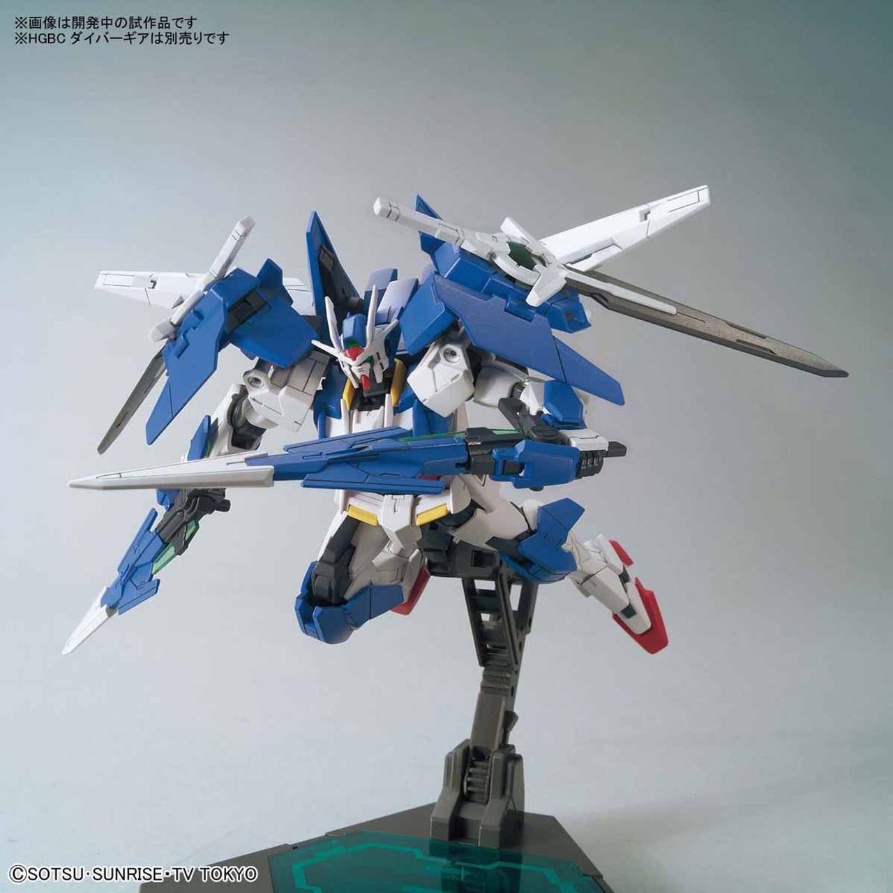 BANDAI 1//144 Riku/'s Mobile Suit GUNDAM 00 DIVER HG