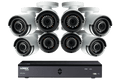 16-Channel MPX 1080p HD 2TB DVR with 8 Weatherproof IR Cameras