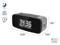 WiFi Mini Alarm Clock Camera with Night Vision