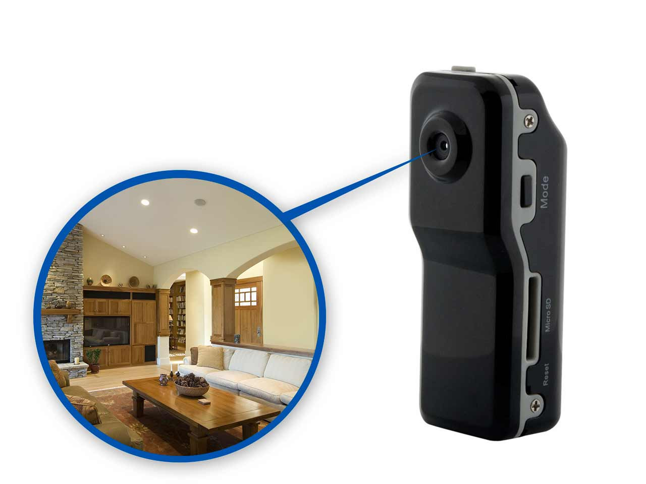 Mega Mini Spy Camera Brickhouse Security