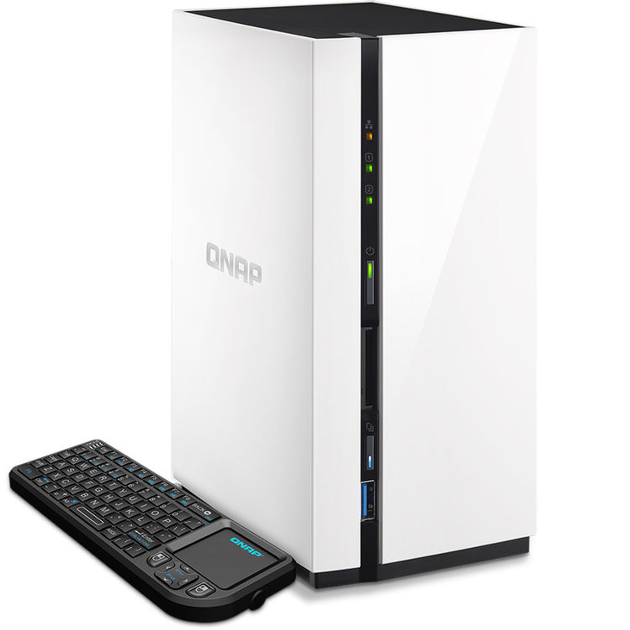 QNAP 2-Bay Personal Cloud NAS QTS and Android with DLNA
