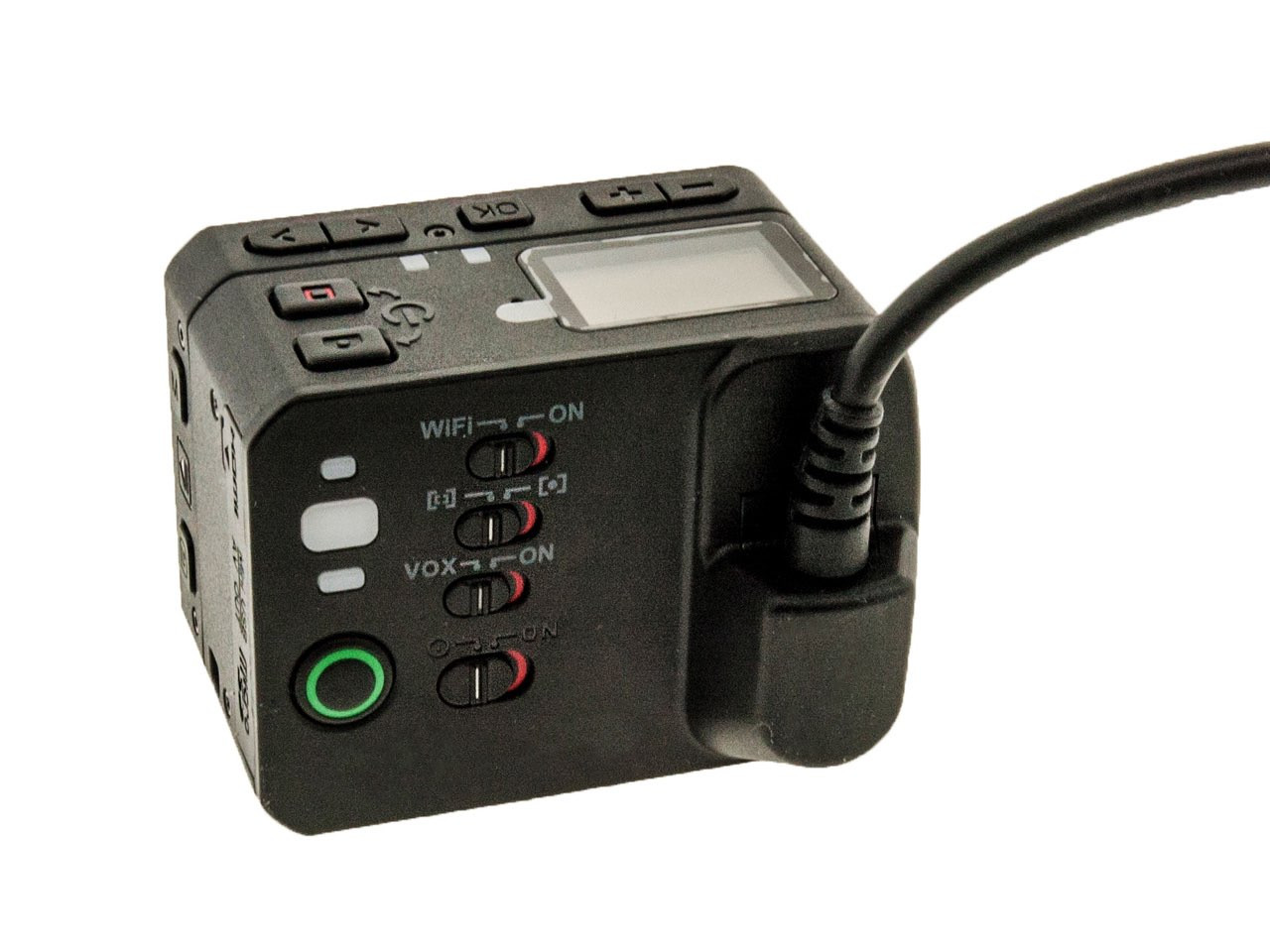Police-Grade Camera with Built-in WiFi and Remote Storage