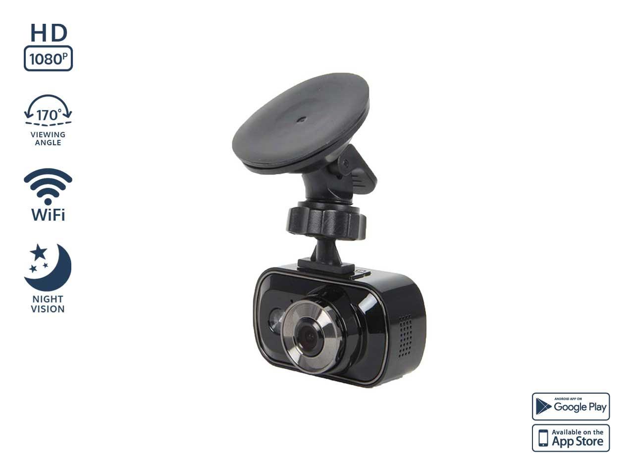 Dual Dash Cam >> Pilot Dualcam 1080p Wifi Dash Cam