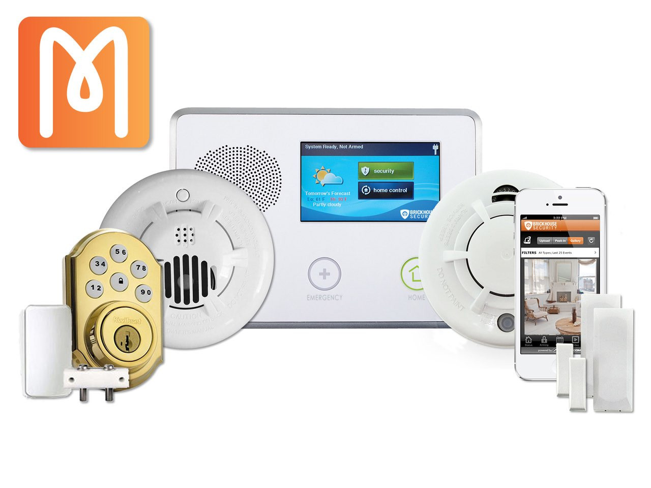 Vacation Home Monitoring System | BrickHouse Security