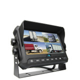"7"" Digital Quad View Color Monitor With Built-In DVR"