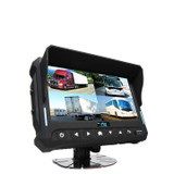 "Wireless 7""Quad View Monitor With Built-In DVR"