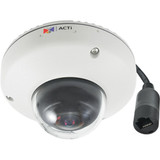 5MP Outdoor Mini Fisheye Dome with D/N, Adaptive IR, Basic WDR, Fixed lens