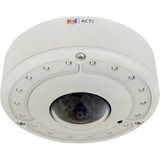 6MP Video Analytics Outdoor Hemispheric Dome with D/N, Adaptive IR, Extreme WDR, SLLS, Fixed lens