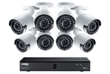 8-Channel MPX 1080p HD 2TB DVR with 8 Weatherproof IR Cameras