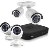 8-Channel HD5MP Series 5.0-Megapixel DVR with 2TB HD & 4 Bullet Cameras