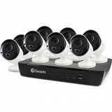 8-Channel 5-Megapixel NVR with 2TB HD & 8 True Detect Bullet Cameras with Audio