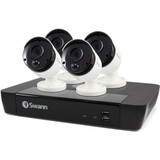 8-Channel 5-Megapixel NVR with 2TB HD & 4 True Detect Bullet Cameras with Audio