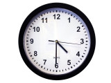 SG Home Battery Operated Wall Clock w/Cloud Recording