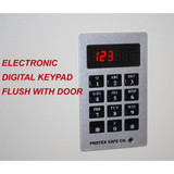 Electronic Wall Safe