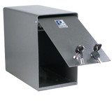Under The Counter Drop Box With Dual Lock