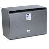 Wall Mounted Drop Box With Tubular Lock