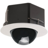 "7"" Indoor Recessed Ceiling Tinted Housing for Fixed (Box) Cameras"
