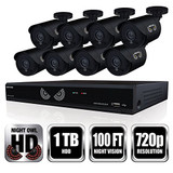 16CH 1080p Lite Security Kit