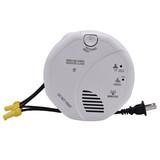 HD WiFi Hardwired Smoke Detector Hidden Camera