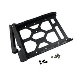 """HDD Tray for 3.5"""" and 2.5"""" drives without key lock, black, plastic with 6 x screws for 2.5"""" HDD & 8 x screws for 3.5"""" HDD"""
