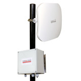 5.8GHz Digital Wireless AHD 1080p Corner Mount Elevator Camera System, Range 200 Floors