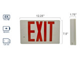 4K Exit Sign Hidden Camera with Night Vision by Xtreme Life