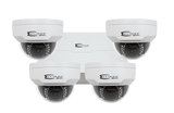 4MP DOME KIT 8 CH NVR + (4) Dome Cameras & Accessories