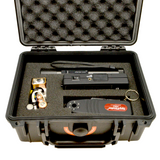RF Detection and Lens Finder Kit in a sturdy portable case.
