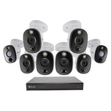 4K Surveillance Kit 16 Ch 2TB DVR with 8 4K Cameras