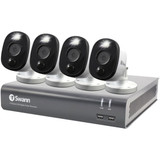 1080p Full HD Security Kit 4-Ch 1TB DVR and 4 1080p Cameras