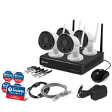 1080p Wi-Fi NVR Kit with 1TB and 4 Cameras