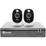 1080p Full HD 4-Ch DVR 1TB DVR and Two 1080p Cameras